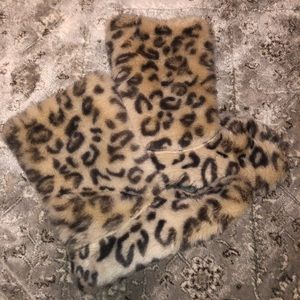 Shoes - Leopard slippers